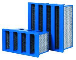 Engineered Filtration System carbon V-Cell filter