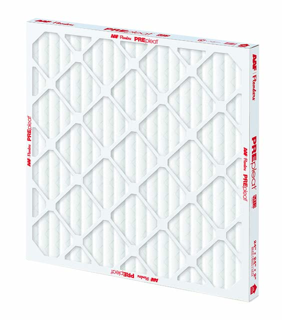 AAF PREpleat MERV 13 2 inch air filter distributed by Joe W. Fly Co., Inc.