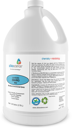 Enviro-mist Probiotic Cleaner distributed by Joe W. Fly Co., Inc.