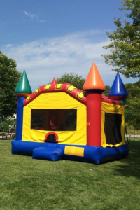 Large Castle Bounce House Rental Kansas City