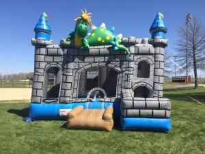 4in1 Dragon Castle Rental