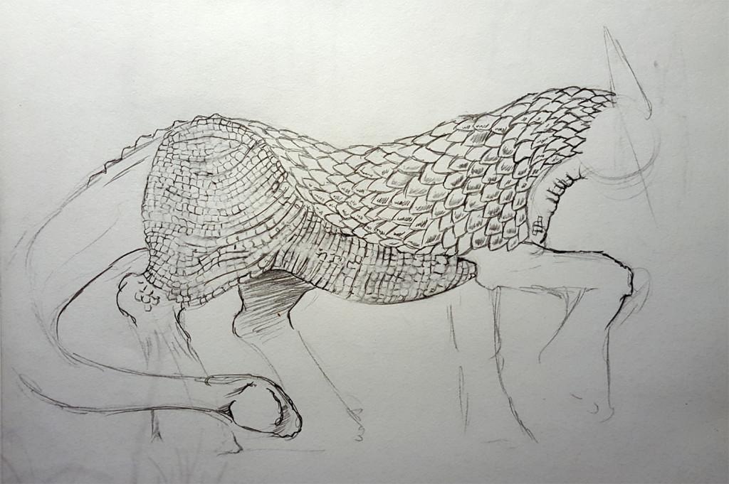 Saigus final body sketch