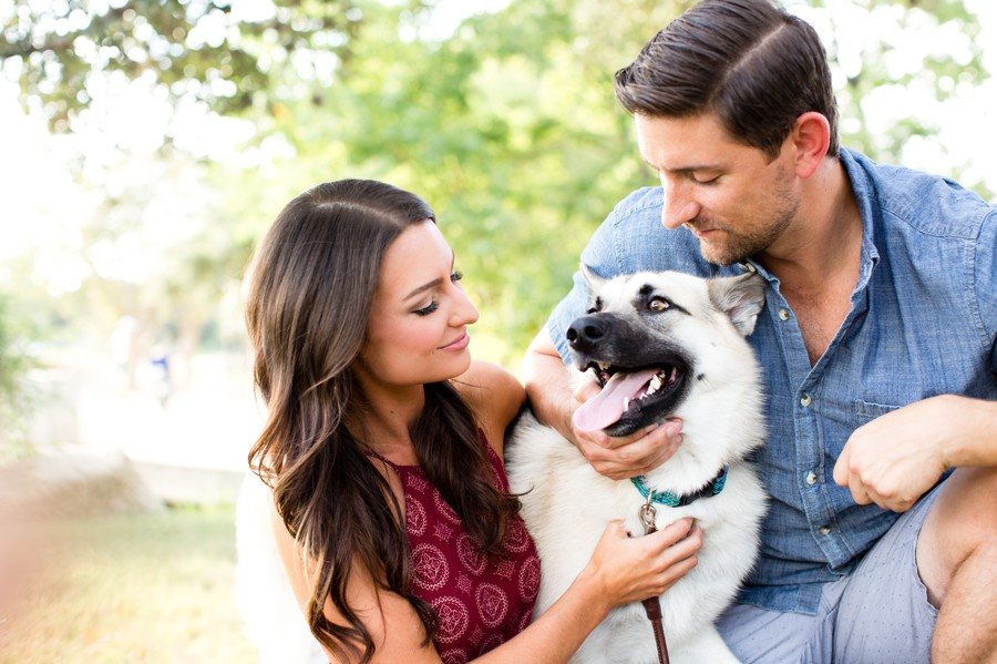 engagement-photos-austin, dog portrait