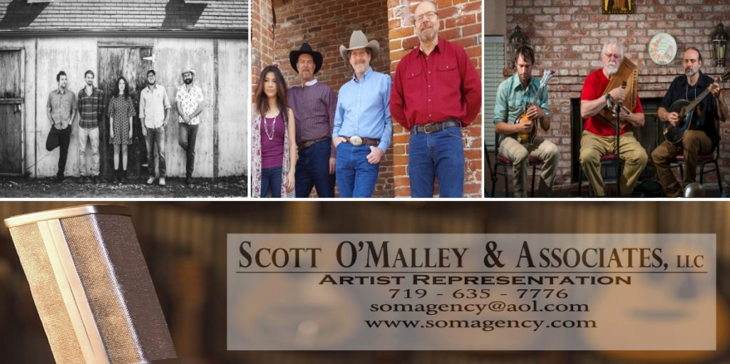 SOMA Welcomes The River Arkansas, Lon Hannah & San Joaquin Junction, and Bryan Bowers Band to roster