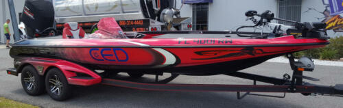 CED Bass Boat