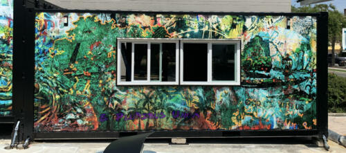 Shipping Containers Wall Wrap 3