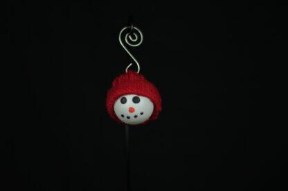 Winter Hat Garland Snowman face
