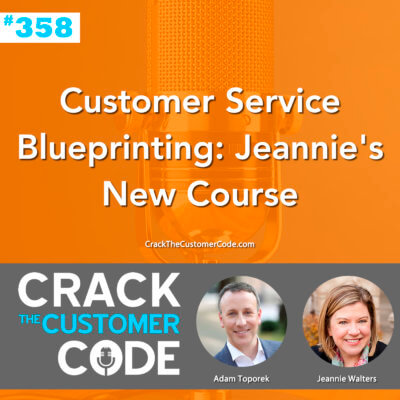 customer service blueprinting
