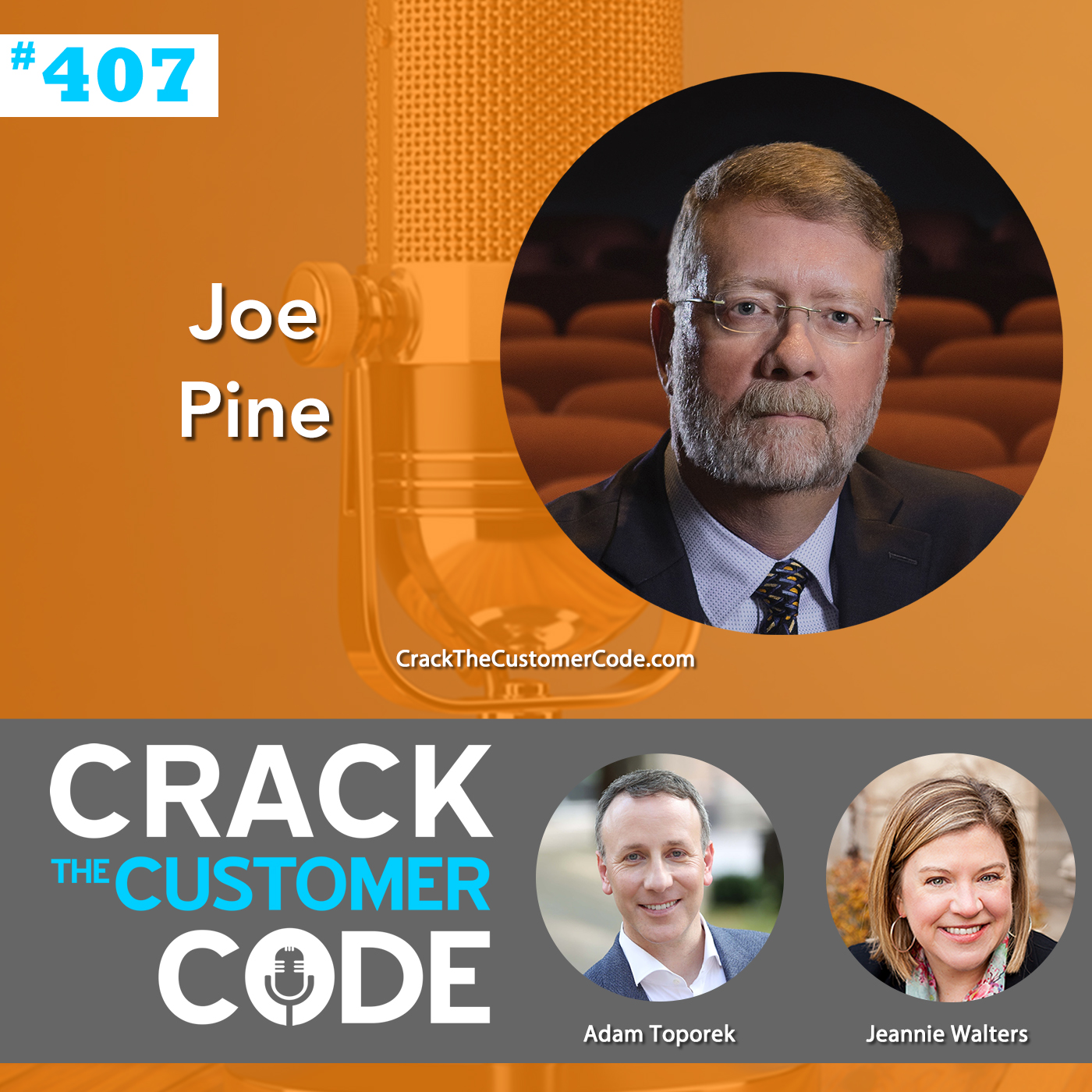 407: Joe Pine, The Experience Economy Revisited