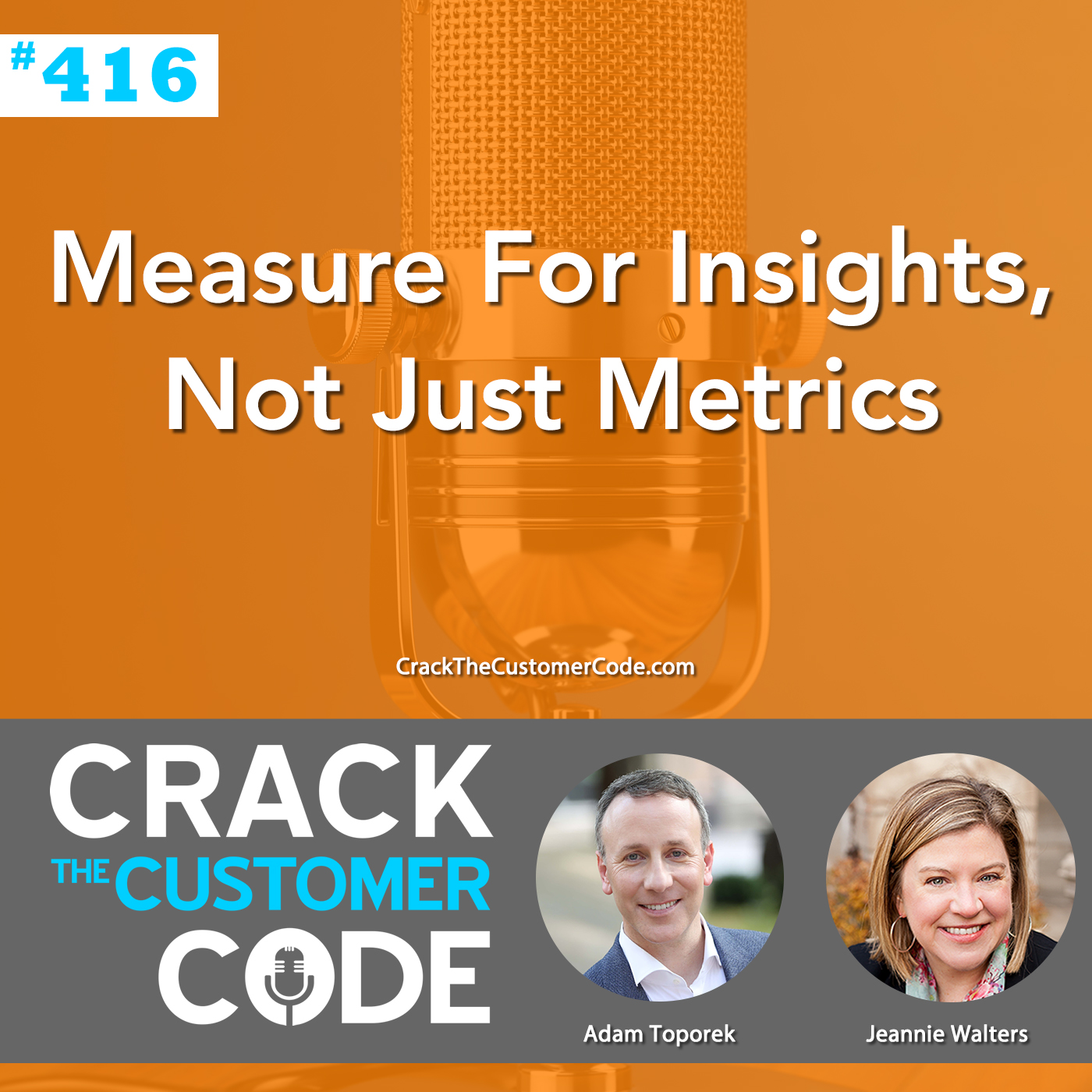 416: Measure For Insights, Not Just Metrics