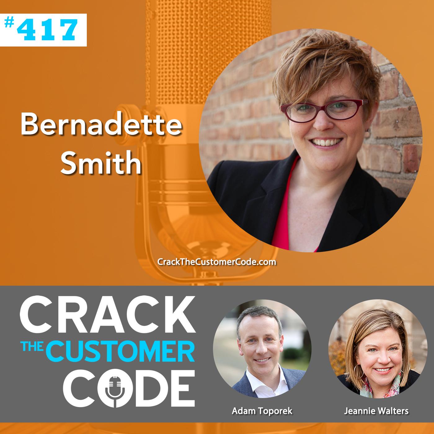 417: Bernadette Smith, Inclusive CX