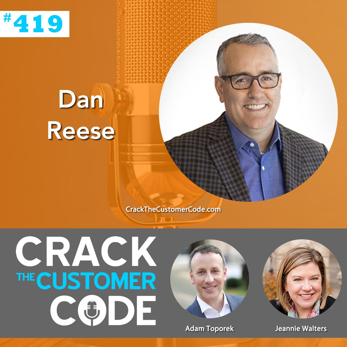 419: Dan Reese, Community and CX