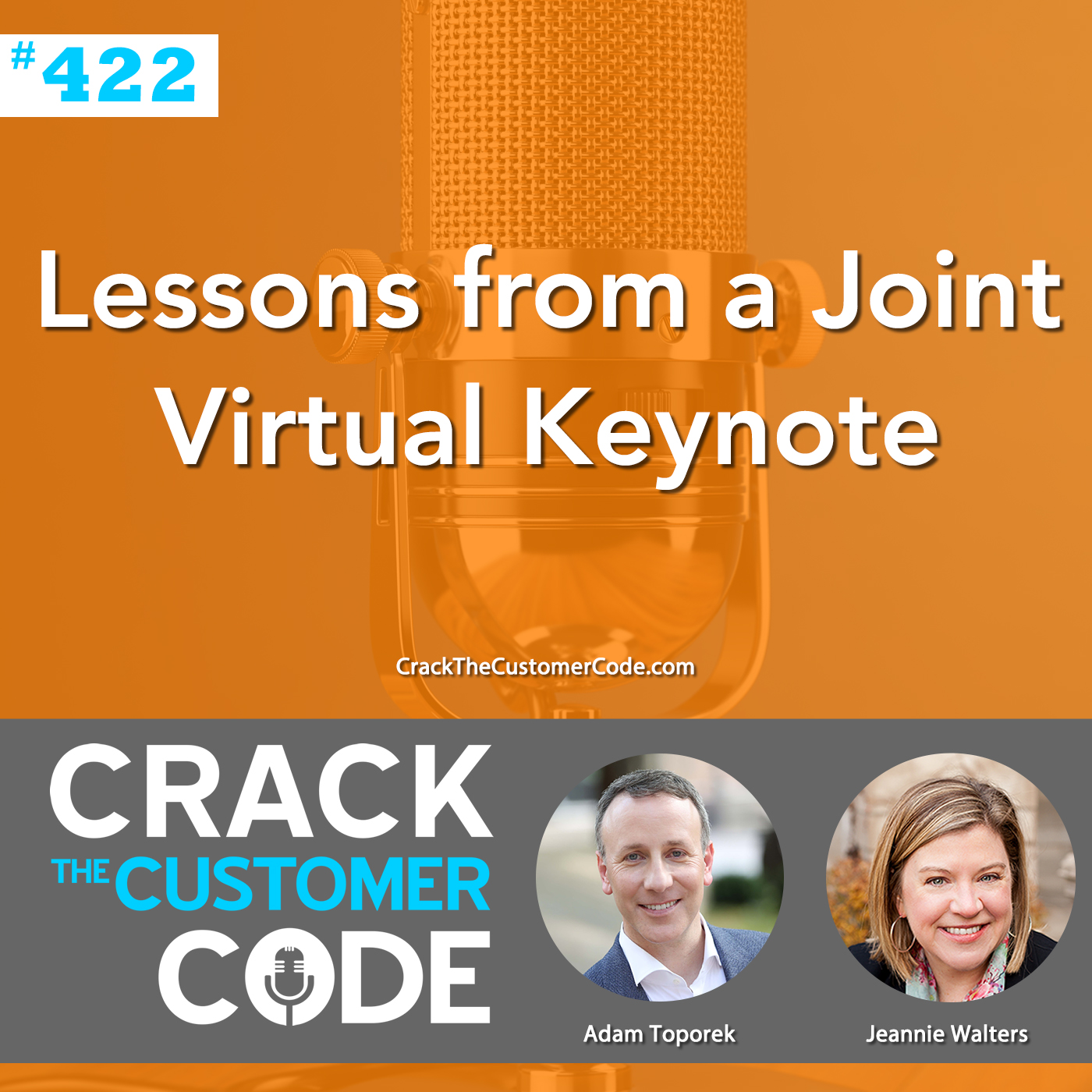 422: Lessons from a Joint Virtual Keynote