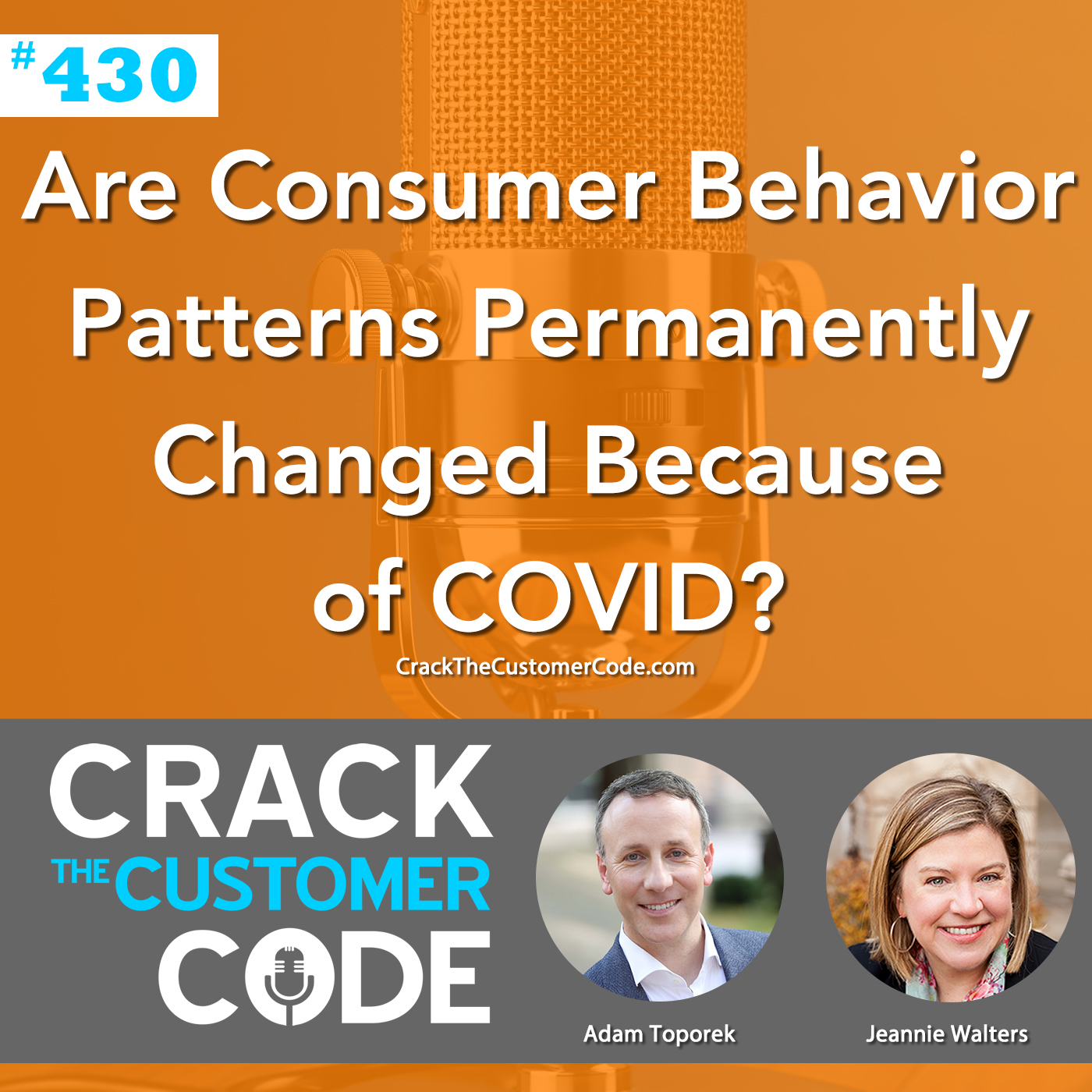 430: Are Consumer Behavior Patterns Permanently Changed Because of COVID?