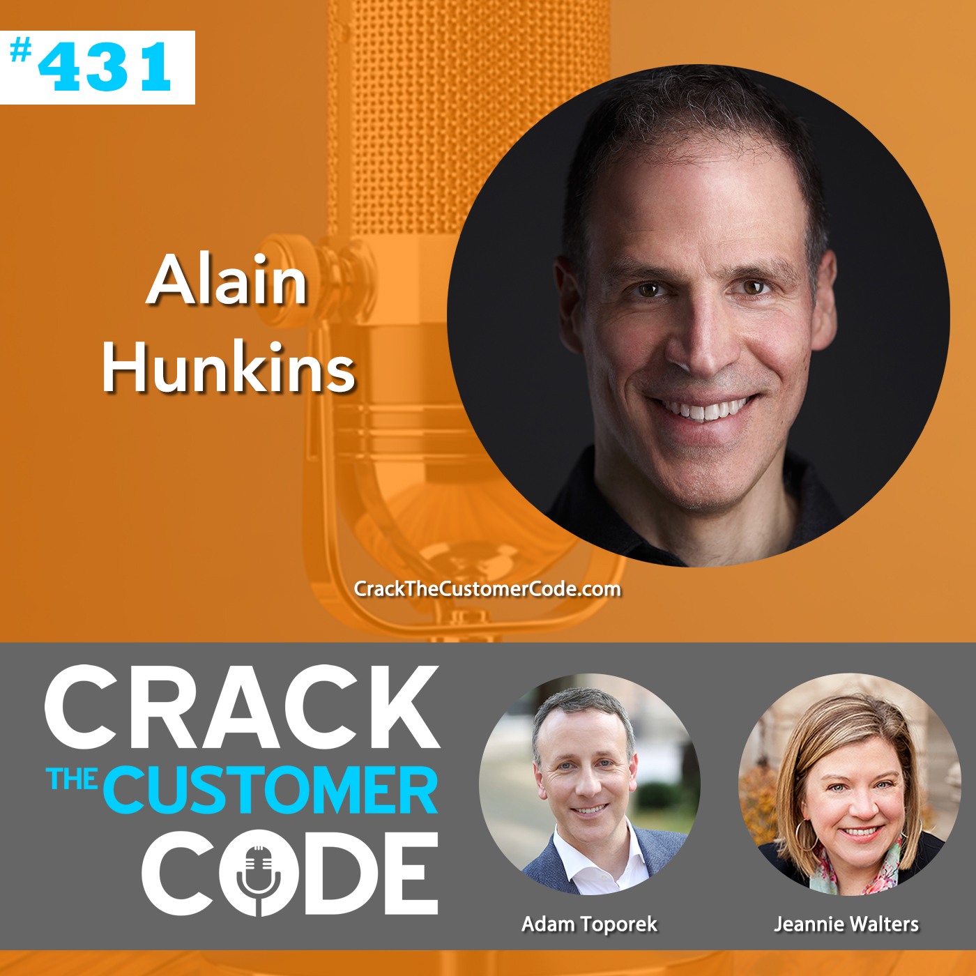 431: Alain Hunkins, Cracking the Leadership Code