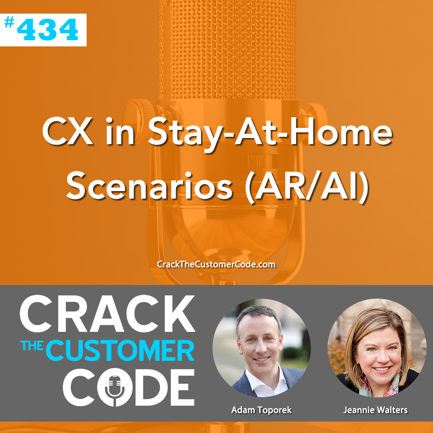 434: CX in Stay-At-Home Scenarios (AR/AI)
