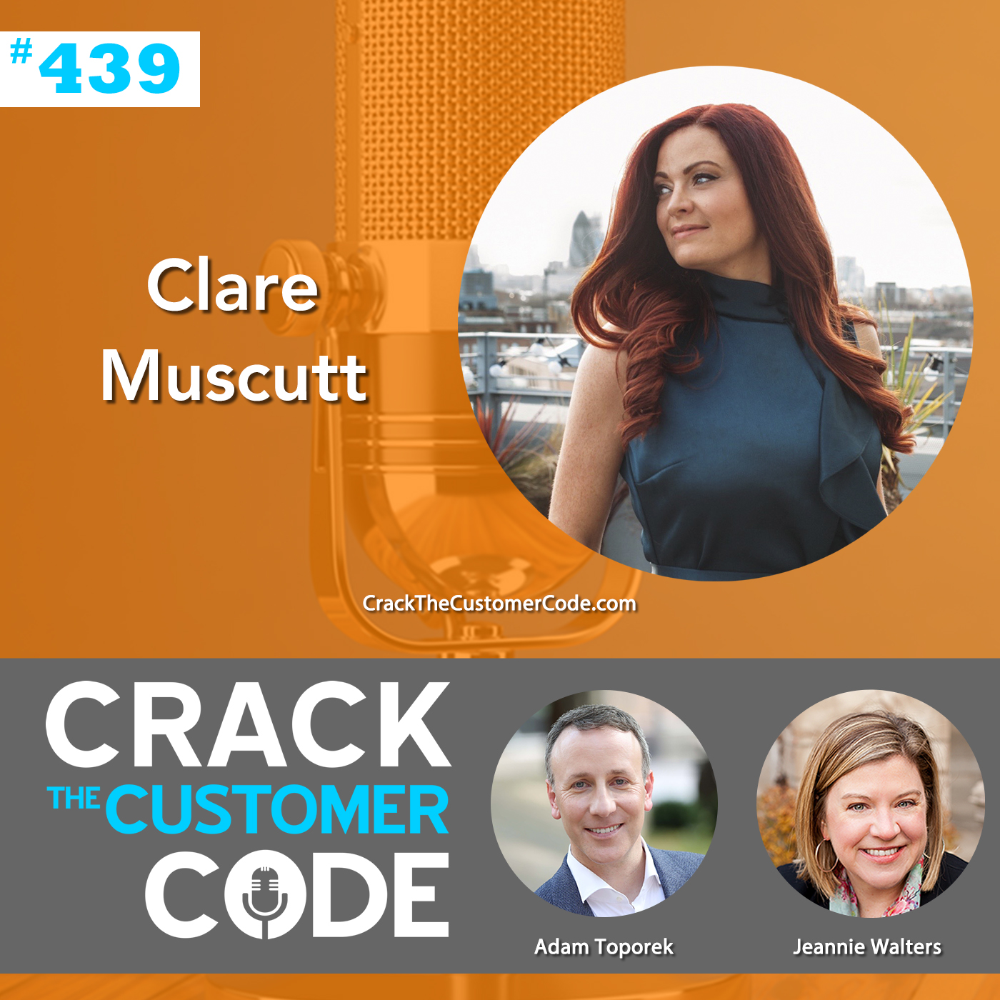 439: Clare Muscutt, Empowering Women in CX