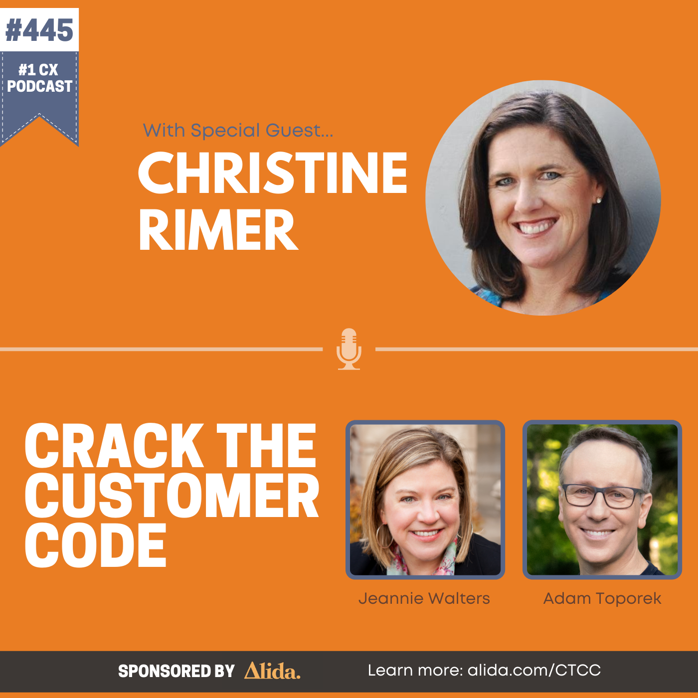 445: Christine Rimer, Learning from the Data