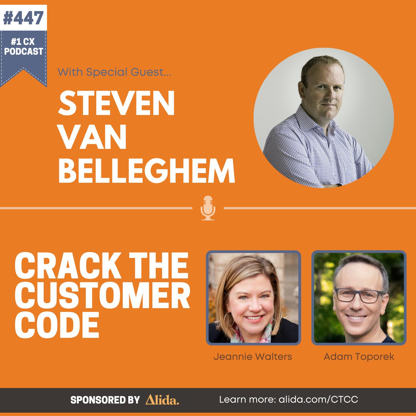 447: Steven Van Belleghem, The Offer You Can't Refuse
