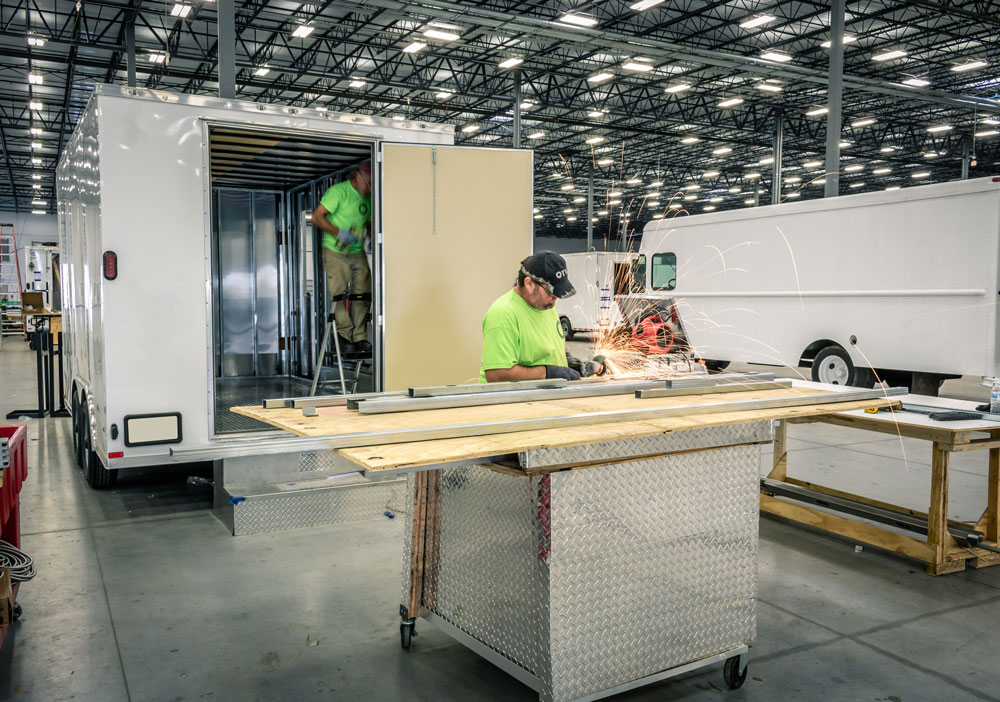 food truck manufacturing by one fat frog