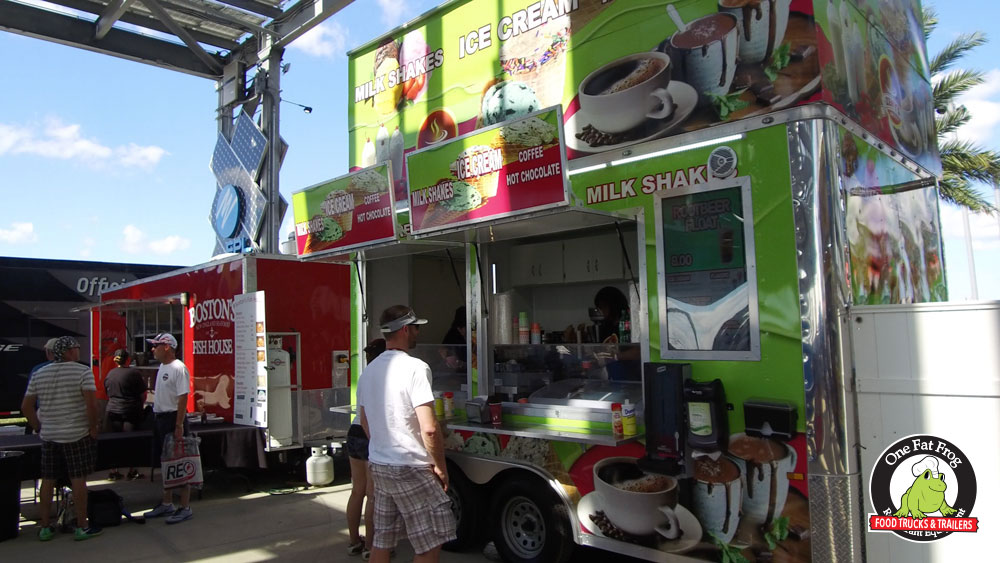 pro kitchen food truck one fat frog