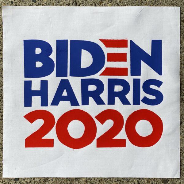 Biden Harris 2020 Quilt Block