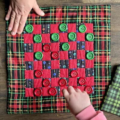 Holiday Checkerboard