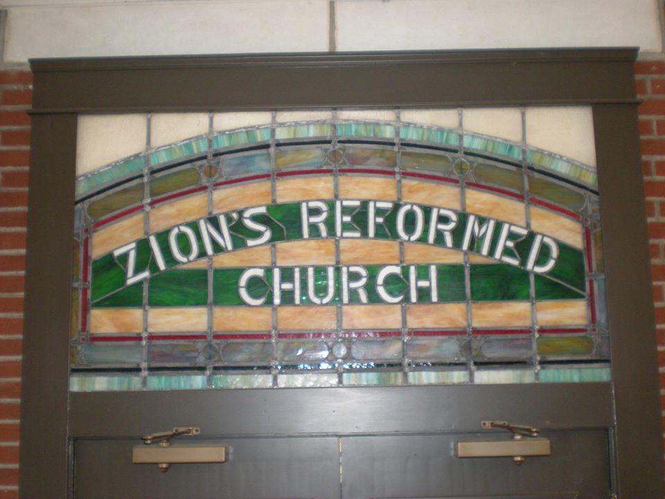Zions Glass Window