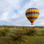 Green in the Desert - Hot Air Balloon