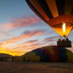 Morning Hot Air Balloon Launch