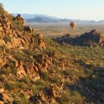 Aerial Hiking Arizona - hot air balloon