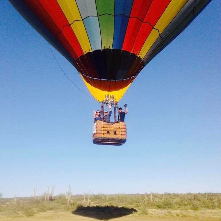 Great Engagement Ideas - Hot Air Balloons