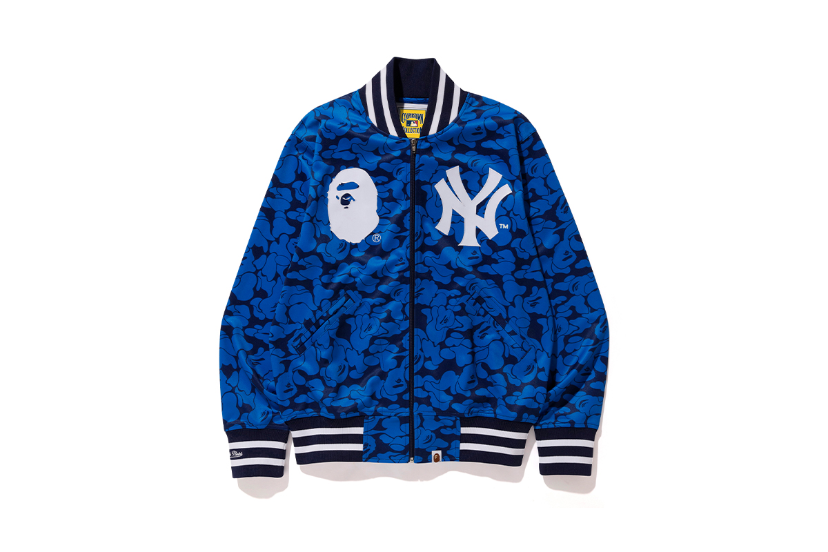 bape mitchell ness mlb collaboration collection release info 1