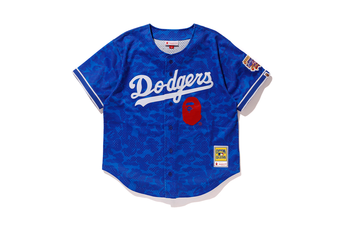 bape mitchell ness mlb collaboration collection release info 13