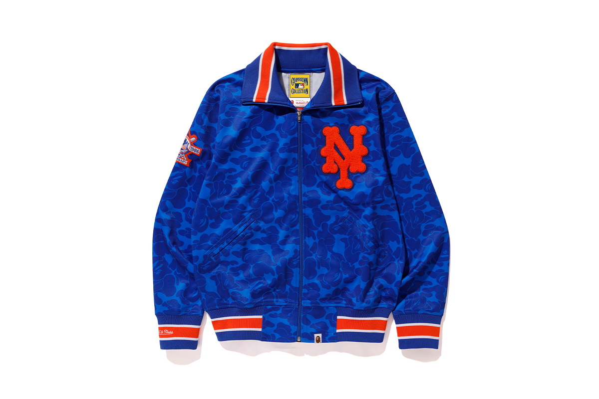 bape mitchell ness mlb collaboration collection release info 3