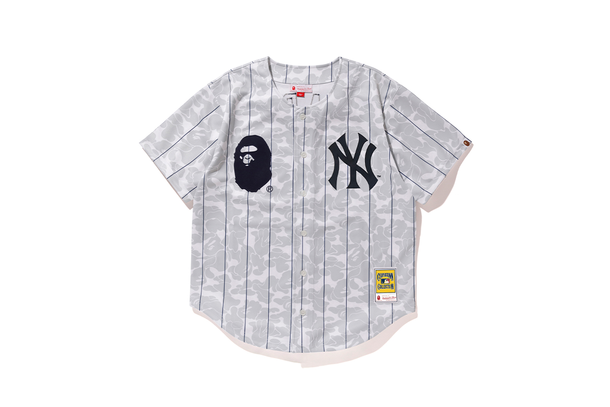 bape mitchell ness mlb collaboration collection release info 9