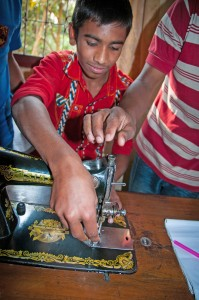 Youth developing marketable skills