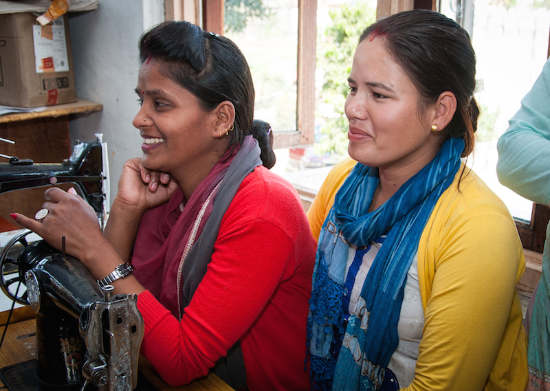Nepal – Lydia Centre Sewing Machine Project