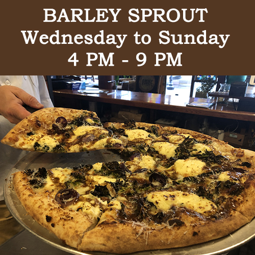 Barley Sprout Pizza_Barley Sprout's New Hours