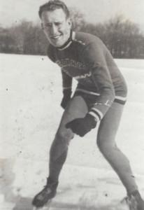 Dad Skating