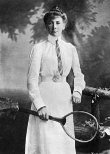 Charlotte Cooper - First Female Olympic Gold Medalist - 1900 Tennis