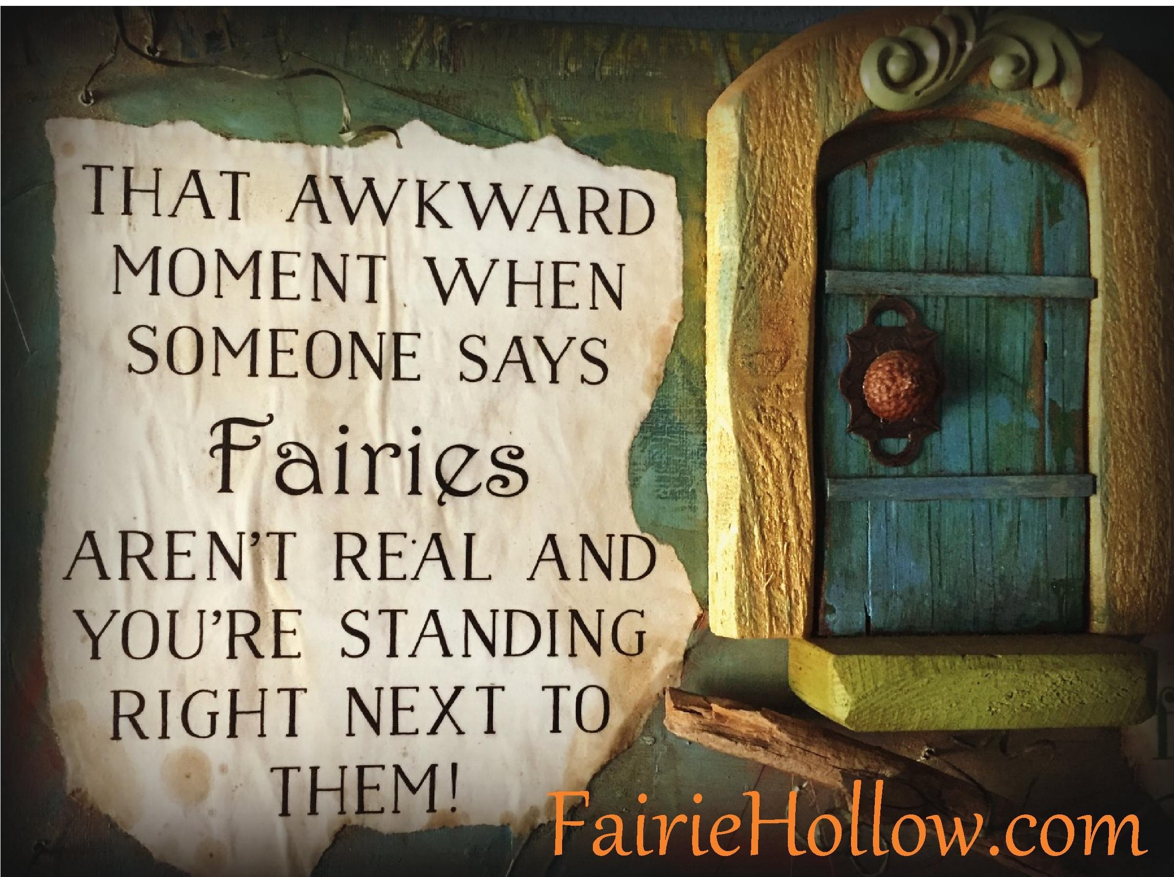 fairie-plaque