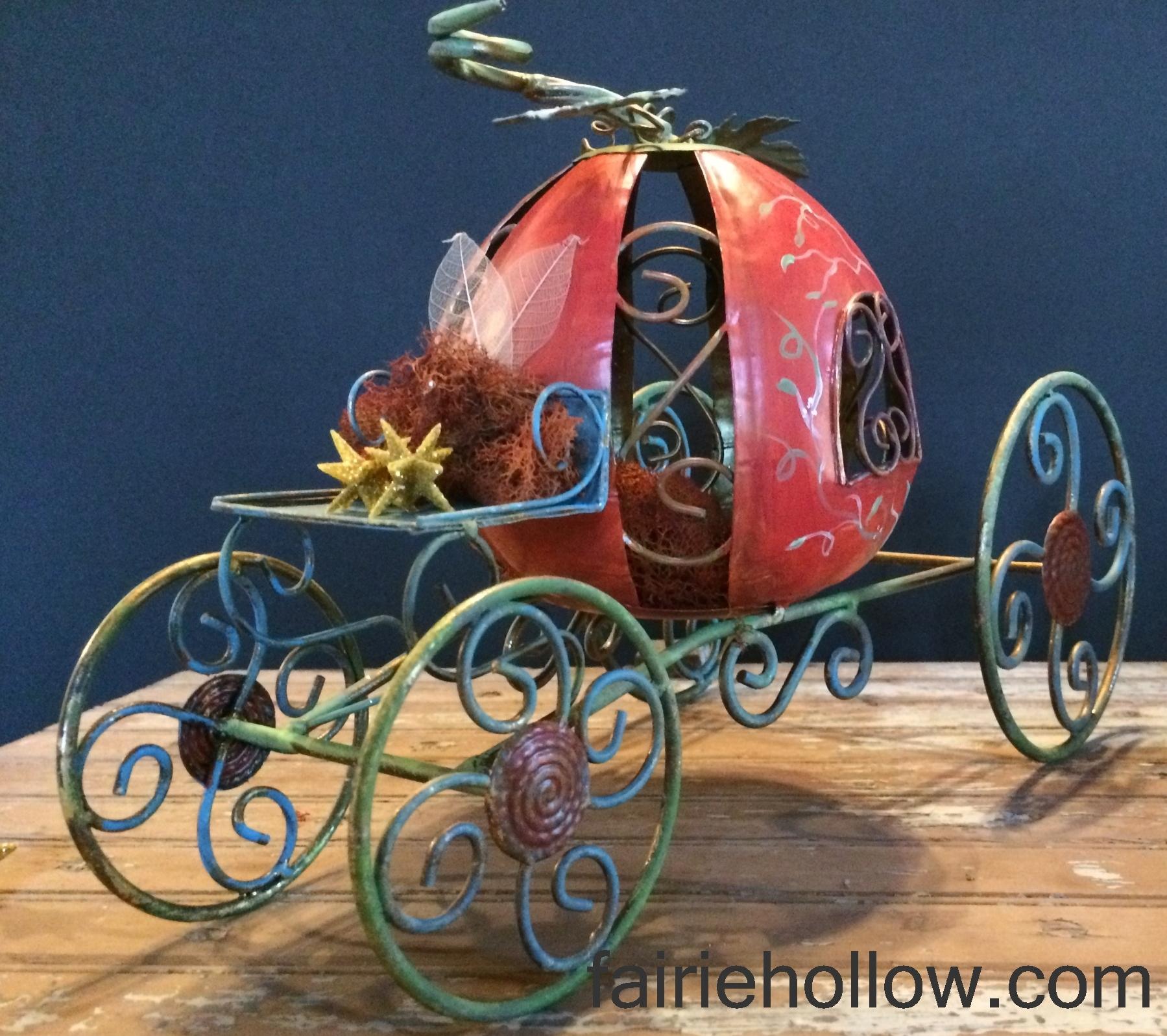 Pumpkin Fairy Carriage