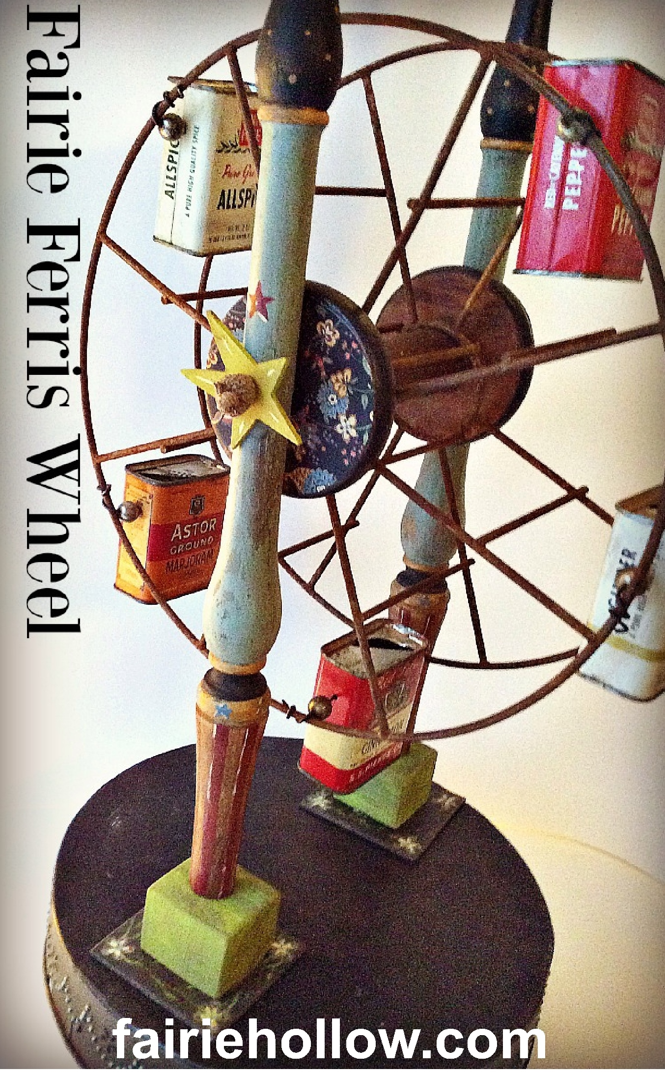 Fairie Ferris Wheel For The Garden