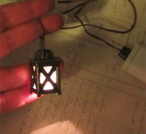 Alphastamps Lantern for your fairy garden projects|fairiehollow.com