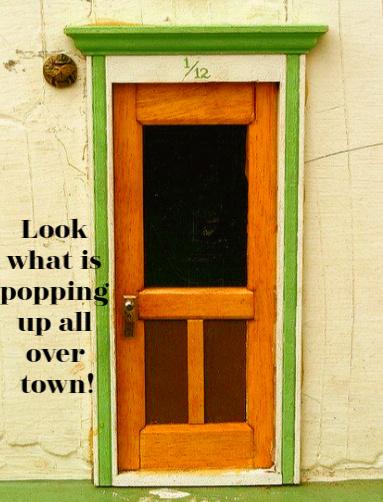 Urban Fairy Doors Make Magic in Ann Arbor