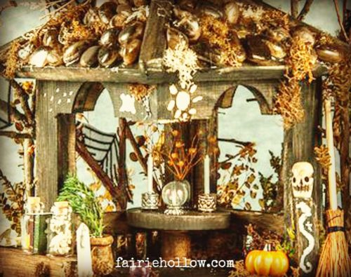 fairy, Halloween gazebo