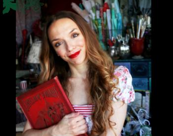 Laetitia paper mache fairy tales artist, fairy houses, merveilles en papier
