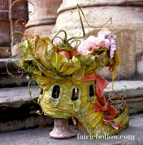 fairy shoe house