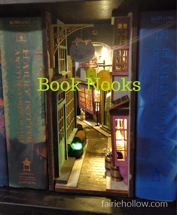 Book Nooks for Fairies